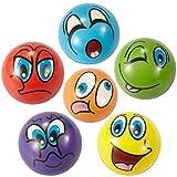ZYDTRIP Squishy Spielzeugball, 6 Stück Stressabbaukugel Anti-Stress-Spielzeugkugeln für Kinder und Erwachsene (6 Stück Squishy Ball-bunt)